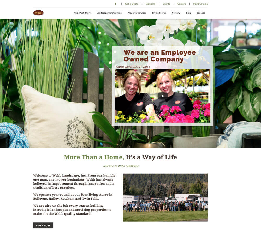 Webb's Homepage