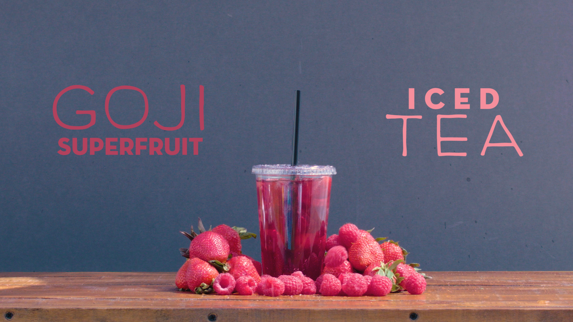 Goji Superfruit Iced Tea