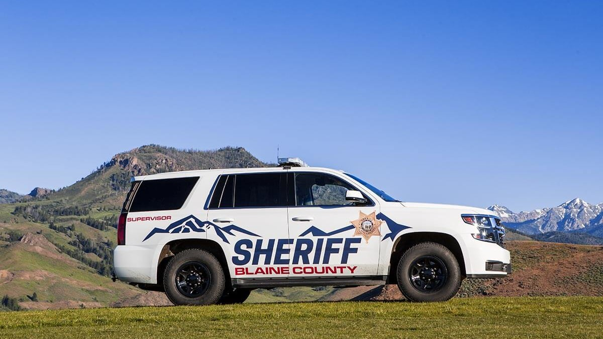 Blaine County Sheriff Vehicle Branding
