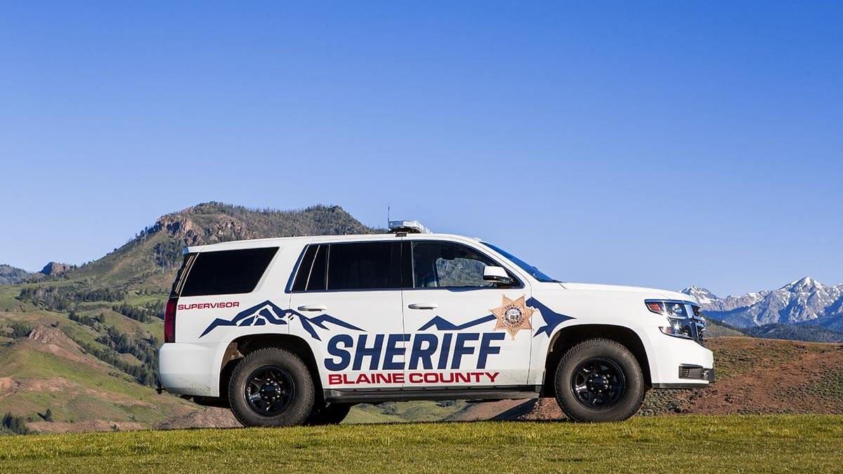Blaine County Sheriff Vehicle Branding